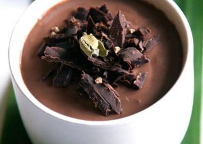 Choclate-cardamom-mousse
