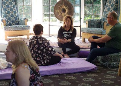 Om healing exchange
