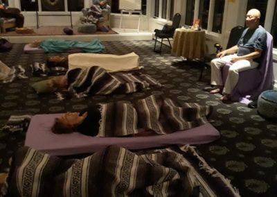 Om retreat activation