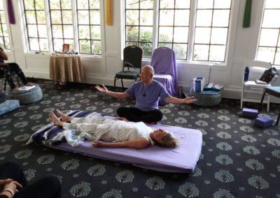 Om retreat healing