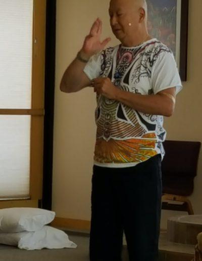 Kenji teaching SITD 2