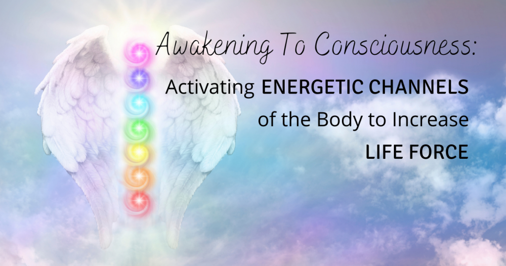 Awakening To Consciousness: Activating Energetic Channels of the Body to Increase Life Force